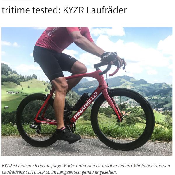 KYZR Laufradtest tritime