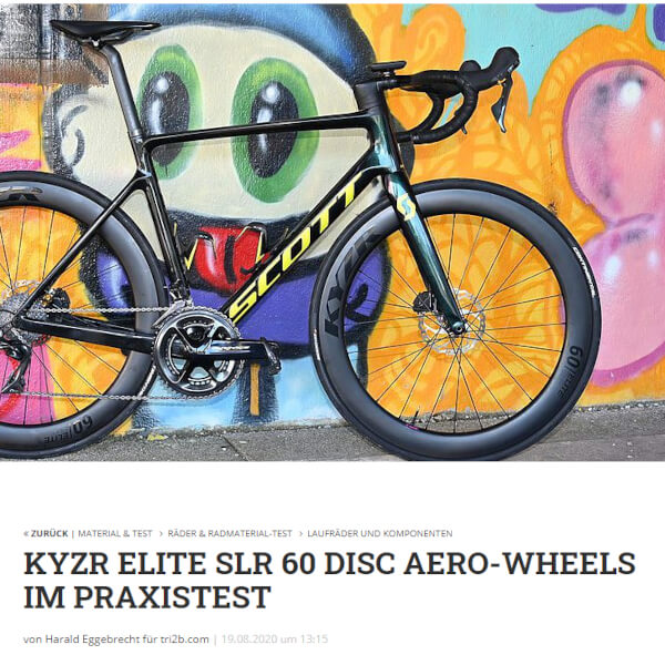 KYZR Laufradtest Tri2b August 2020
